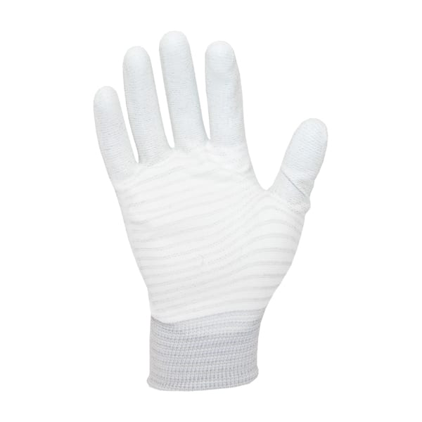 ESD PU Palm Glove Carbon Stripe