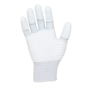 ESD PU Tip Carbon Stripe Glove