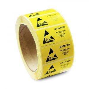 ESD Caution labels