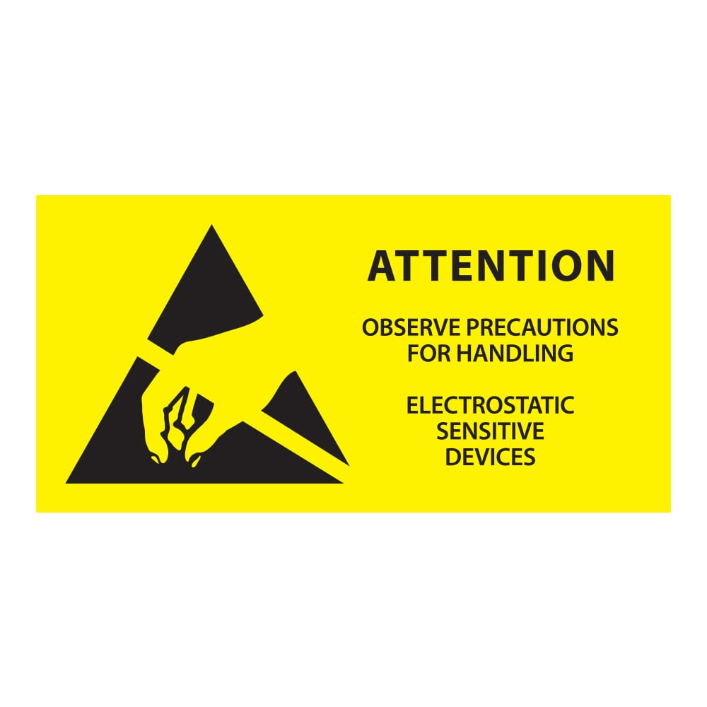 055-0003-ESD-Attention-Sign