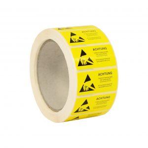 ESD Caution Label- German