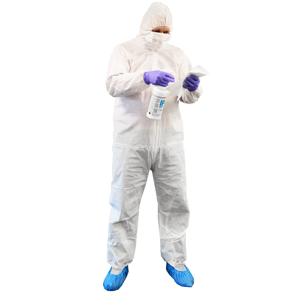 Cleanroom disposable coverall