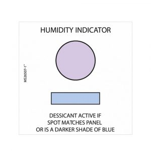 1 Spot Humidity Indicator Card
