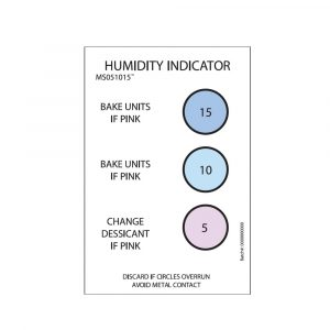 3 Spot Humidity Indicator Card