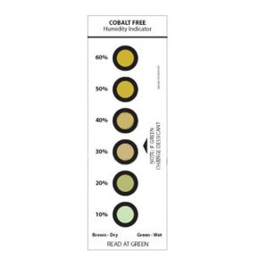 6 Spot Cobalt Free Humidity Indicator Card