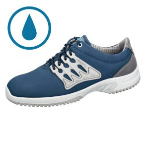 Uni6 Safety Blue water repellent trainer