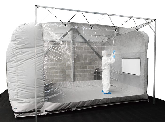 cleanroom tent