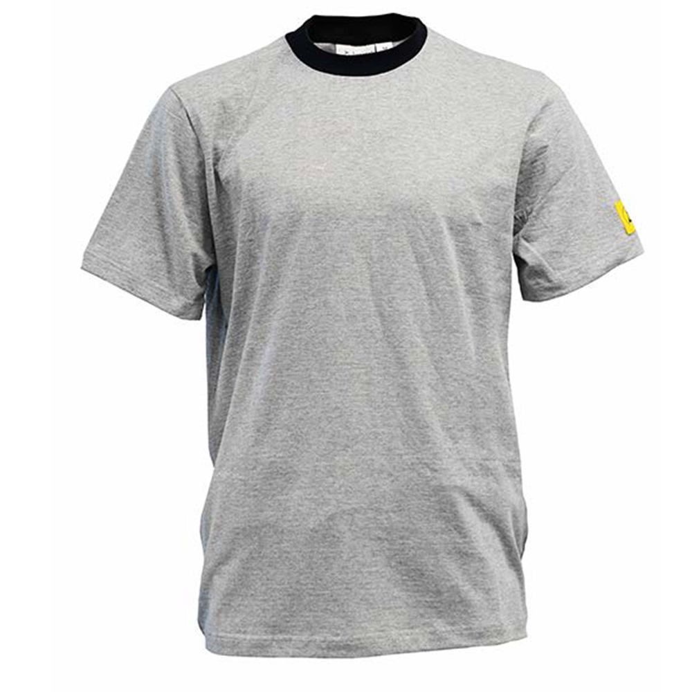 Antistat ESD Short Sleeve T-shirt – Grey